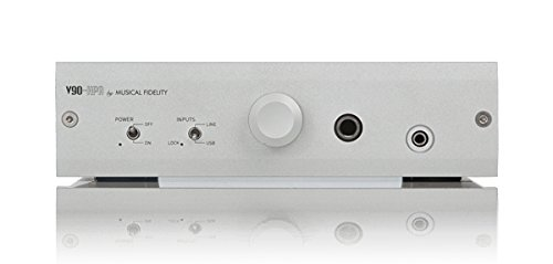 Musical Fidelity V90-HPA Kopfhörer Verstärker - Ohrhörer Verstärker (3.5mm / 6.3mm, 20 - 80000 Hz)
