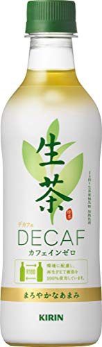 新・キリン 生茶デカフェ お茶 430ml PET ×24本 デカフェ・ノンカフェイン