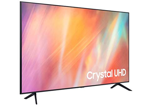 Samsung 4K UHD 2021 50AU7105 - Smart TV de 50' con Resolución Crystal UHD, Procesador Crystal UHD, HDR10+, PurColor, Contrast Enhancer y Alexa Integrada
