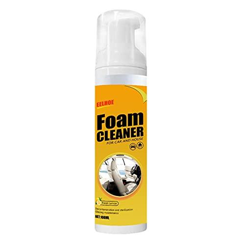 Limpiador de espuma multifuncional para automóvil, aerosol de limpieza de plástico para cuero de automóvil, limpiadores de artefactos de limpieza, suministros de descontaminación fuerte