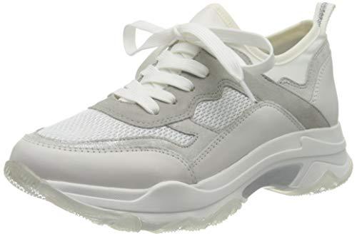 MARCO TOZZI 2-2-23775-24, Zapatillas Mujer, Color Blanco Comb 197, 38 EU
