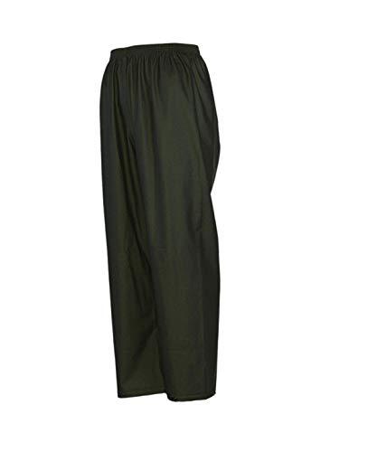Gamehide Herren-Regenhose aus PVC/Poly-Mischgewebe, Herren, grün, 3X-Large
