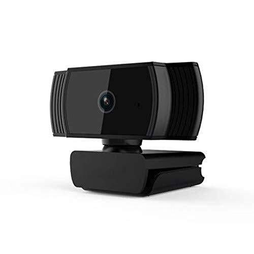 Coxxlloo Full HD 1080P de la cámara del ordenador, USB Streaming webcam con micrófono, cámara web for juegos de conferencia de trabajo, ordenador portátil o PC de escritorio, la cámara del ordenador U