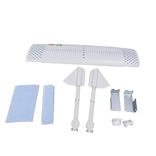 xiji Parabrezza Aria condizionata, deflettore Aria Regolabile Materiale ABS di qualità per Bambini per Donne Incinte per condizionatori d'Aria