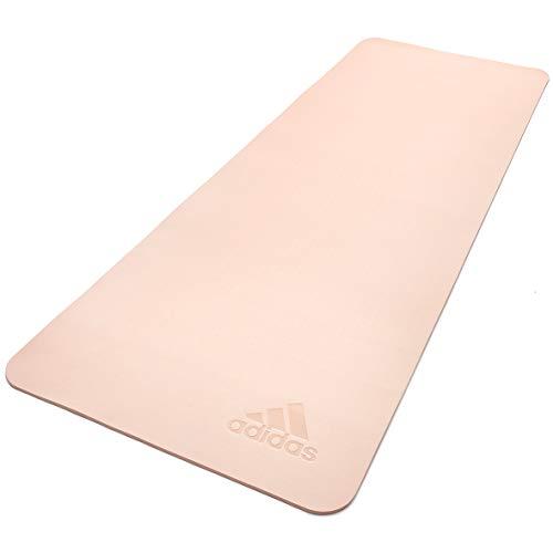 adidas, Premium Yoga Mat-5mm-Pink Tint Unisex-Adult, Tinta Rosa