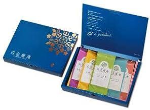 白金癒淹 漢方茶バラエティーギフトセット 6g(ティーカップ約4~5杯分)×3包 5種類 箱入り