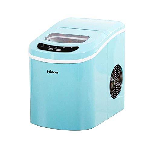 SKRMKK High QualitySmall Haushalts-Eismaschine Maschine für Arbeitsplatte, Machen 33 Pfund EIS in 24 Stunden, Commercial Tea Shop KTV Round Ice Manuelle Wasserautomatische Eismaschine
