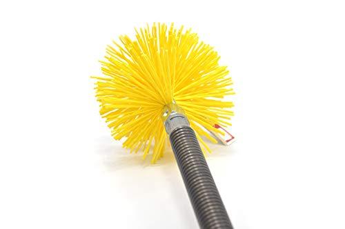 S&M 862649 Extensión Flexible M-H 24 cm-Rosca métrica 12, Acero