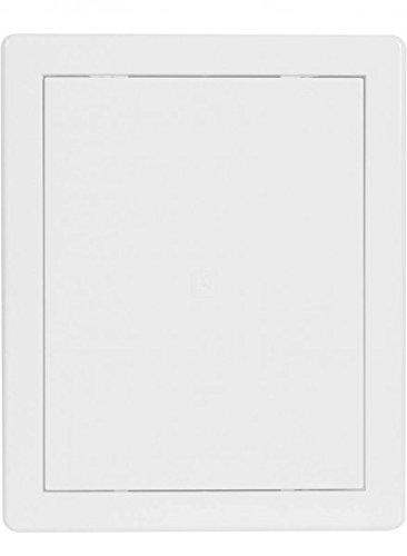 Revisionstür Revisionsklappe weiß 200x250mm hochw ASA Kunststoff Einbaurahmen