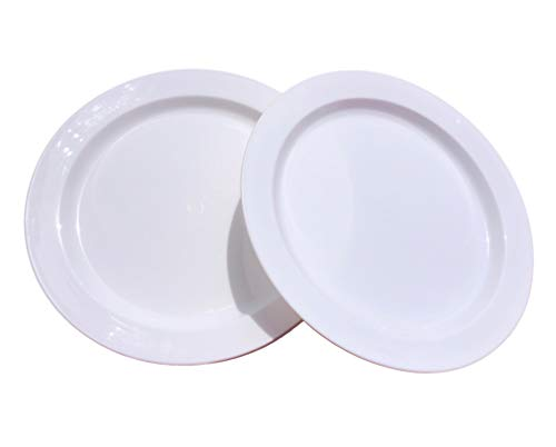 Mayr & Huber Haushaltswaren 20 Stück unzerbrechliche Teller Speißeteller Plastikteller Campingteller
