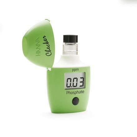 Hanna Instruments Pocket Fotometer HI 713 für Phosphat Wasserqualitätstester, Grün, 8.0 x 12.0 x 3.5 cm