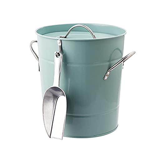 XBR Cubo de Hielo Industrial Pala de Hielo y contenedor de Barril de PVC Acolchado térmico para el hogar, Bar, Cerveza, champán, Vino, Cubo de Hielo, Utensilios, Cubo de Hielo, enfriad