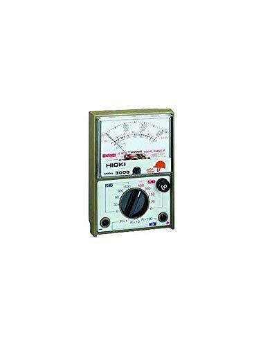 FYYONG Hioki 3008 HiTester-manual del rango promedio, con sensor analógico multímetro, 600 V, 10 Kilohms