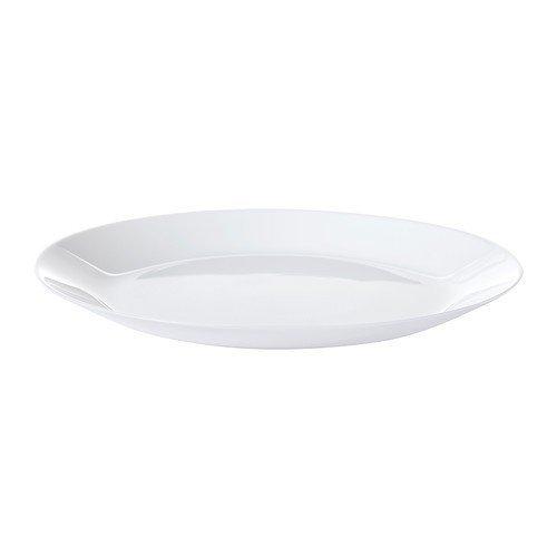 IKEA OFTAST Dessertteller in weiß; (19cm)