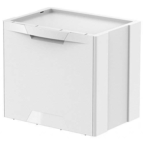 Meliconi - Cubo para Recogida selectiva - Línea Ecocubes - Capacidad 22 litros - Cuerpo y asa en Material plástico
