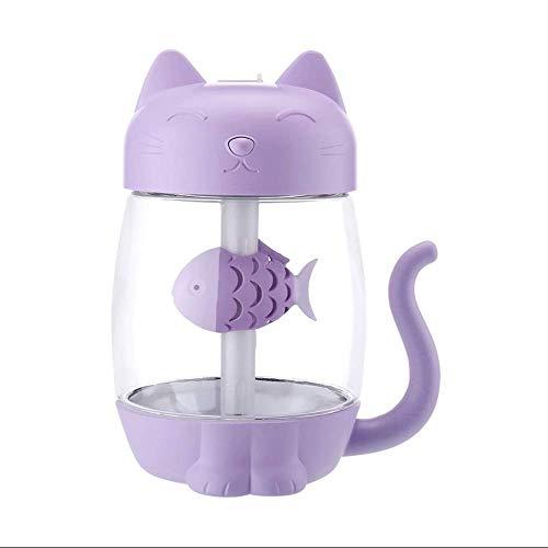 RUOXI USB luftbefeuchter, DREI in einem tragbaren Katze luftbefeuchter-4 Farben-büro Schreibtisch Home Schlafzimmer