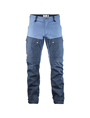FJÄLLRÄVEN Keb Gaiter Trousers M Pantalon de Sport Homme Dark Navy/Uncle Blue FR : 5XL (Taille Fabricant : 60)
