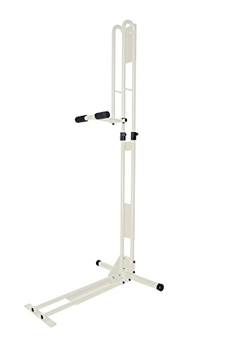 サイクルロッカー(CycleLocker) 室内用縦置き自転車スタンド クランクストッパースタンド CS-650 (WHITE)