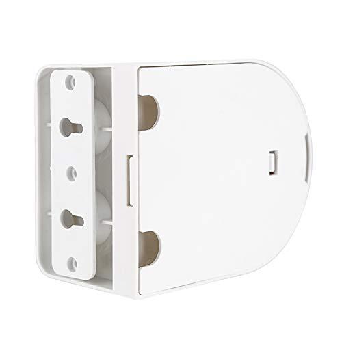 FOLOSAFENAR Cámara Domo Universal Soporte para cámara Domo Fácil instalación Soporte Blanco para cámara ABS Compatible con la mayoría de los Tipos de cámaras CCTV para Viajes de Oficina en casa