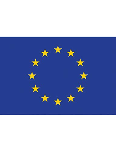 "TrendClub100® Fahne Flagge ""Europäische Union Europa Europe EU"" - 150x90 cm / 90x150cm"