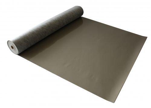wineo UCT1000 silent Comfort Trittschalldämmung Dämmunterlage für Vinylboden 1,5mm, braun, 1x10m