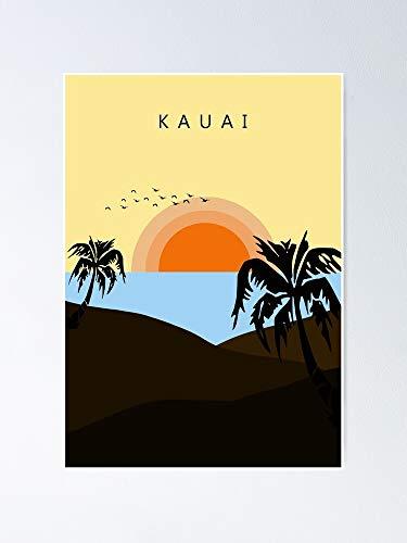 AZSTEEL Childish Gambino - Kauai Sticker Poster
