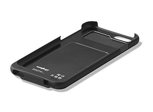 Funda receptora PowerCase para iPhone 7 de MiniBatt para adaptar el teléfono a la carga inalámbrica Qi, Receptor Wireless Charge, Carcasa de Protección para iPhone 7 (negro)
