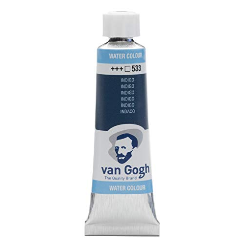 Van Gogh Watercolor Paint, 10ml Tube, Indigo 533