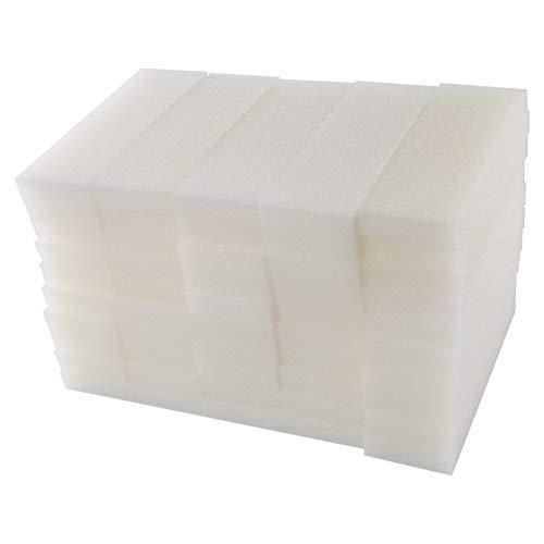 LTWHOME Filterschwamm Passend für Fluval 204,205,304,305(50 Stück)