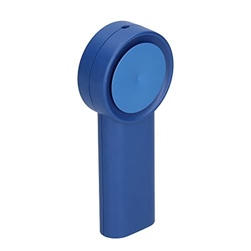 Shanrya Fan De Mano Portátil, Capacidad del USB 3000mAh De La Fan De La Mano del Ventilador Sin Cuchillas con El Cable del USB para Los Deportes