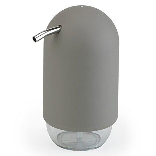 Umbra Bath Touch, dispensador para jabón líquido, Jabonera, accesorio de baño, plástico, gris, 023273918