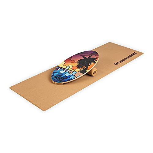 BoarderKING Berlin Allrounder Set Balance Board Surfboard Balanceboard Bali
