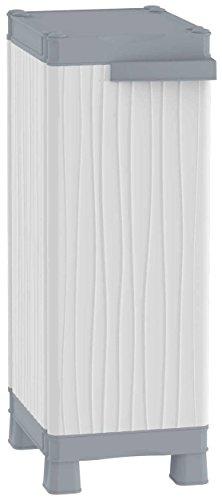Terry Base 350 UW Armario 2 Estantes Internos, Gris, 35x43,8x97,6 cm