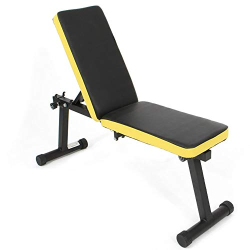 SogesGame Adjustable Bench,Utility Weight Bench for Full Body Workout- Multi-Purpose Foldable Incline/Decline Benchs for Home,PSBB003-S8-US