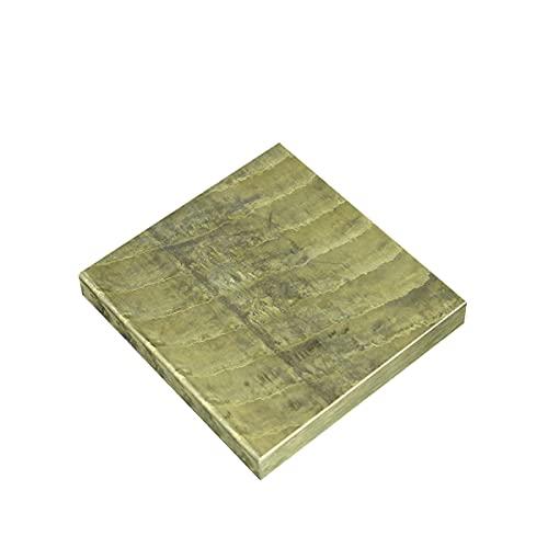 LOKIH Bronzeplatten Diese Legierung Hat Hohe Mechanische Eigenschaften, 6mmx200mmx200mm,6mmx100mmx100mm