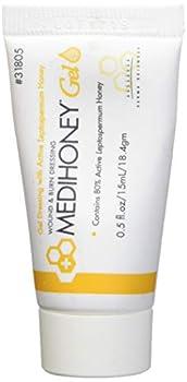 Improved Medihoney Gel Wound and & Burn Dressing from Derma Sciences 0.5 oz,