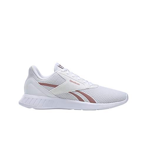Reebok Lite 2.0, Zapatillas de Running Mujer, Blanco/BLUSMT/Blanco, 39 EU