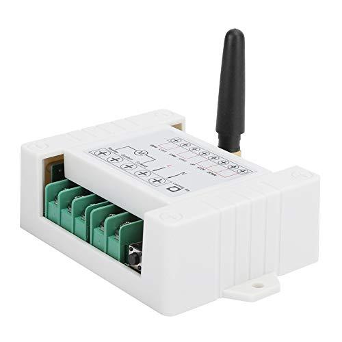 Weikeya Zwei‑Weg Motor Vorwärts und Umkehren Regler, Abs AC 85-260V 433 MHz Kabellos Fernbedienung
