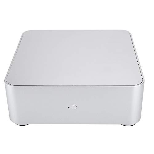 KSTE Case Mini Itx, Computer Case ITX Mini 2.0 Lega di Alluminio HTPC Case Mini Computer Case PC