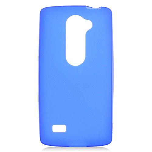 Eagle Cell TPU Gel Case for LG Tribute 2 LS665/Leon C40/Destiny L21G/Power L22C - Retail Packaging - Blue