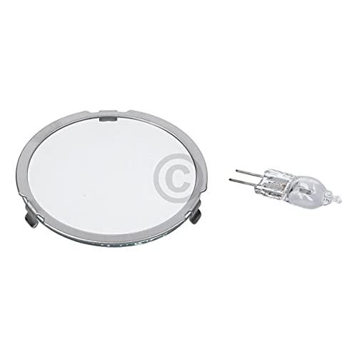 DL-pro Halogenlampe 20W 12V für Bosch Siemens Neff 629022 00629022 Lampe mit Deckel für Dunstabzugshaube