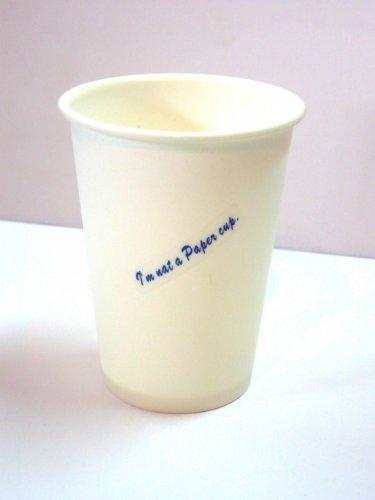 Tasses Set de 6 Gobelets Réutilisables I'm not a Paper Cup