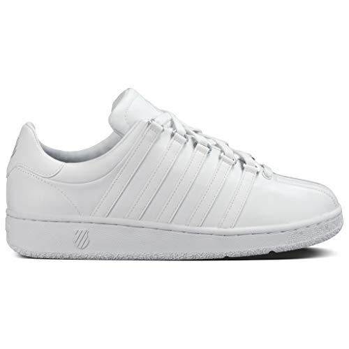 K-Swiss Women's Classic VN Lifestyle Sneaker, White/White, 11 M US