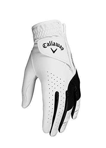 Callaway Golf Women's Weather Spann Premium Japanese Synthetic Golf Glove, Worn on Right Hand, Small