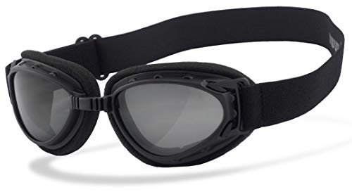 Helly Bikereyes Hurricane 2 Motorradbrille Schwarz Smoke