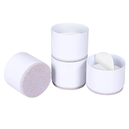 Ezprotekt Bed Risers Heavy Duty Furniture Risers for Sofa Table Couch Lift...