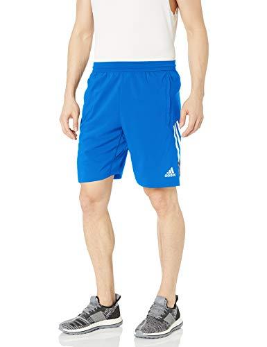 adidas Pantalones Cortos 4krft 3stripe+ Tejidos 9 Pulgadas para Hombre, Hombre, Pantalones Cortos, GLB99, Azul Glory, XXL