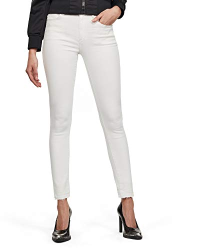 G-STAR RAW 3301 High Waist Skinny Ripped Ankle Vaqueros Mujer