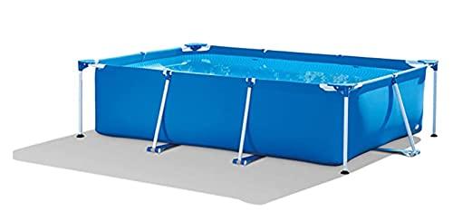 Steel Pro - Juego de piscina sin bomba de filtro (400 x 211 x 81 cm)