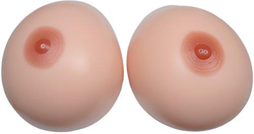 BIONORA Faux Seins géants sous Forme d'inserts pour Soutiens-Gorge, réalistes, env. 5000 grammes/Paire, Taille 6XL, Bonnets J-K, sans Couche adhésive